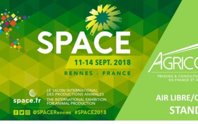 AGRICONFOR AU SPACE!